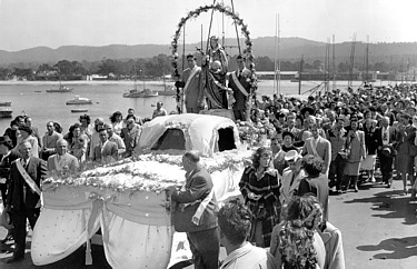 ICF Convention Float, Oakland, 1948